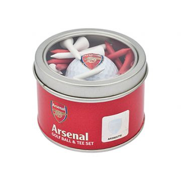 Arsenal Golf Ball & Tee Set